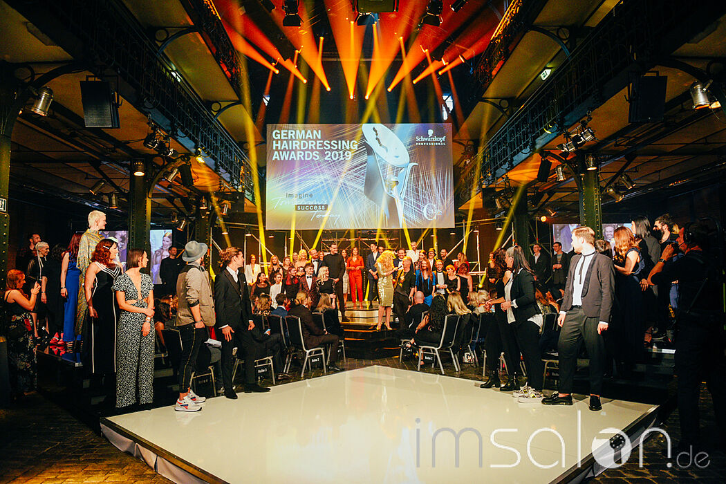 German Hairdressing Awards 2019 - Nominierten-Walk: imSalon.de