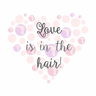 Love Is In The Hair Social Media Sprüche Zum Download